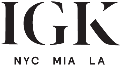 IGK hair salon logo