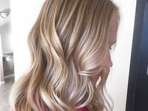 Light Ash Brown Hair With Blonde
